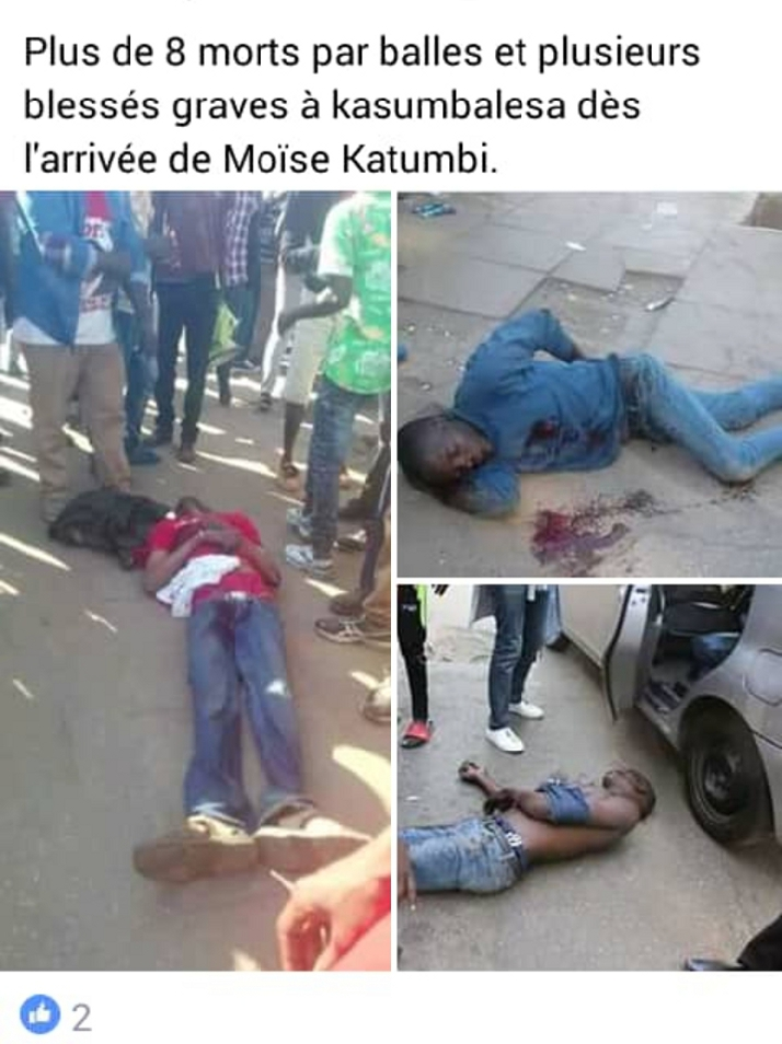 Les péripéties du retour de Moise Katumbi, attention aux fausses images d'illustration