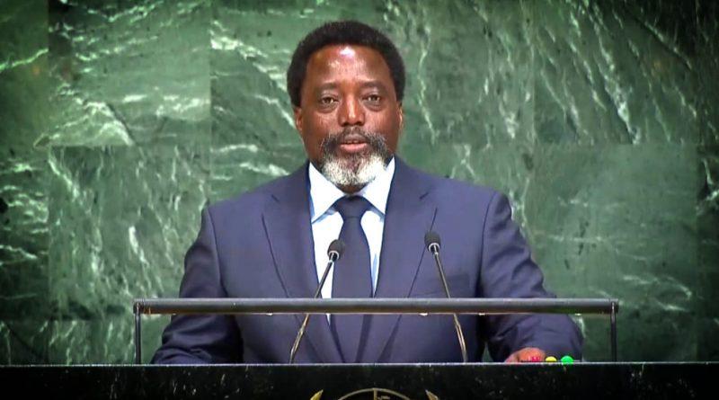 Dernier massacre à Beni: Joseph Kabila ignore la date devant l'ONU