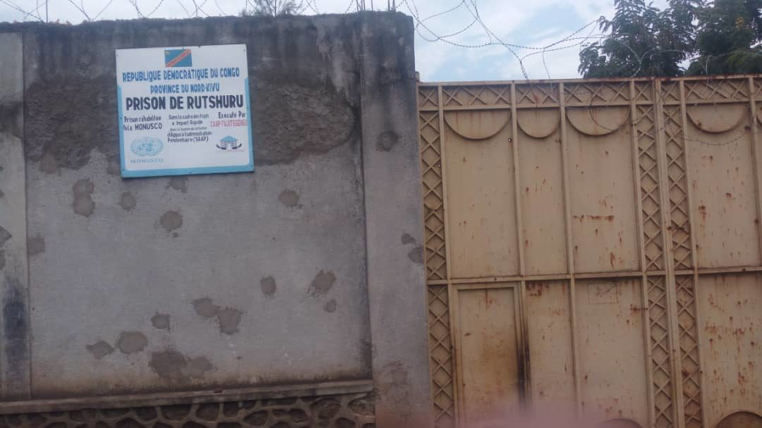 Nord Kivu: les faux chiffres de l'administrateur du territoire sur le nombre de décès à la prison de Rusthuru