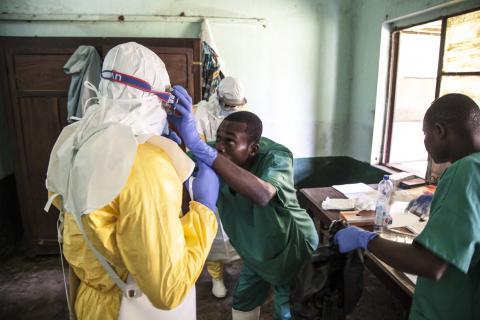 Ebola: aucun contact à risque n'est parti à Kinshasa