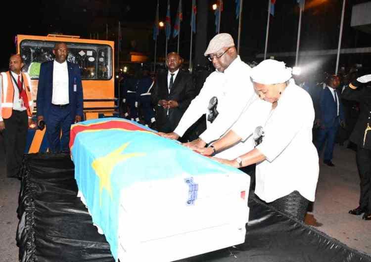 Faux, Étienne Tshisekedi n'avait pas été précédemment enterré à Bruxelles