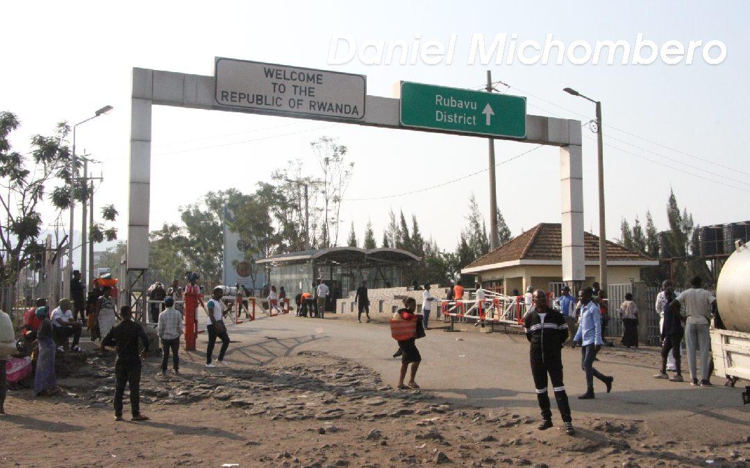 Faux, le Rwanda n'a pas «officiellement fermé» ses frontières avec Goma