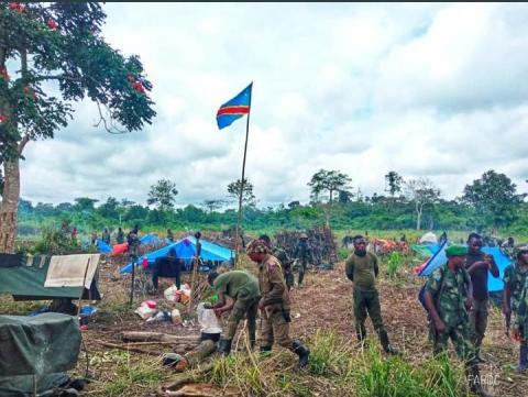 Faux, l'armée n'a pas retrouvé des cartes militaires rwandaises dans un bastion rebelle récupéré à Beni
