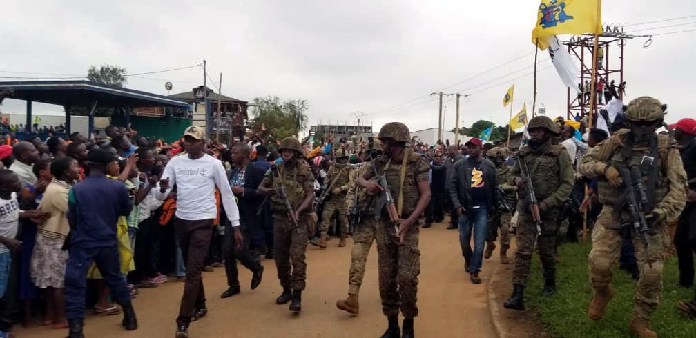 Aucune unité spéciale avec l'appui de l'armée américaine n'est dans la garde rapprochée de Félix Tshisekedi